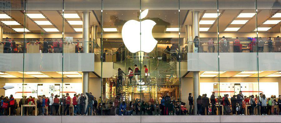Apple Store to show consumers and people shopping