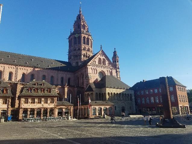 Building in Mainz, Germany