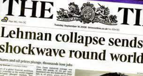 Lehman Brothers Collapse