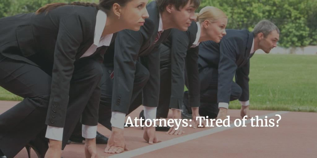 Attorneys: Wonder Why You Are Working So Hard? Thumbnail