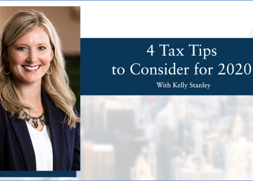 Video: 4 Tax-Saving Tips for 2020 Thumbnail