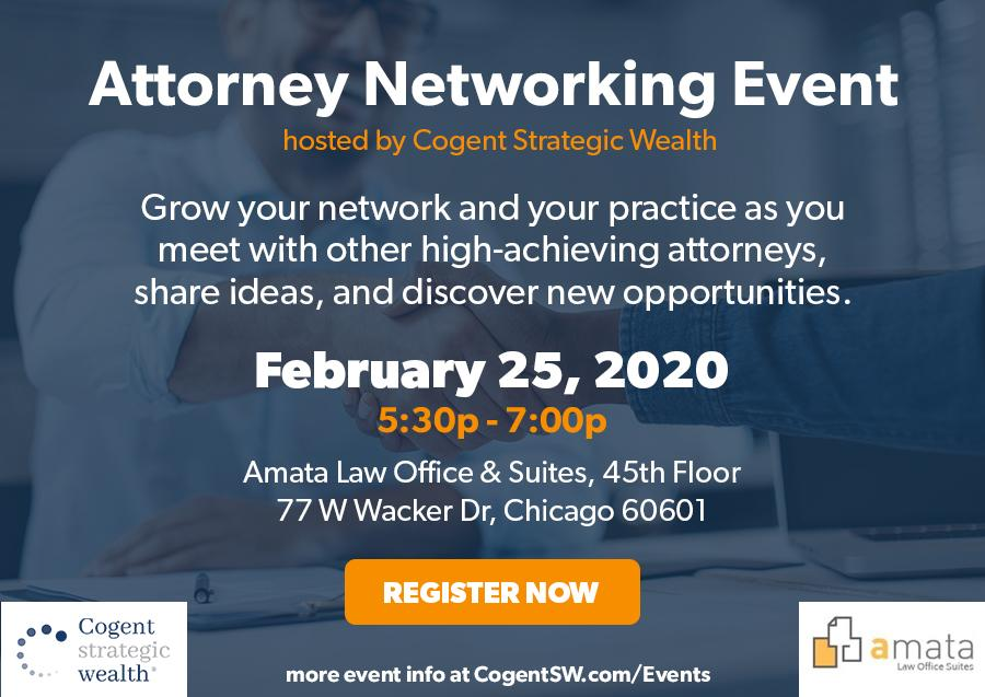Networking Event for Chicago-Area Attorneys February 25th Thumbnail