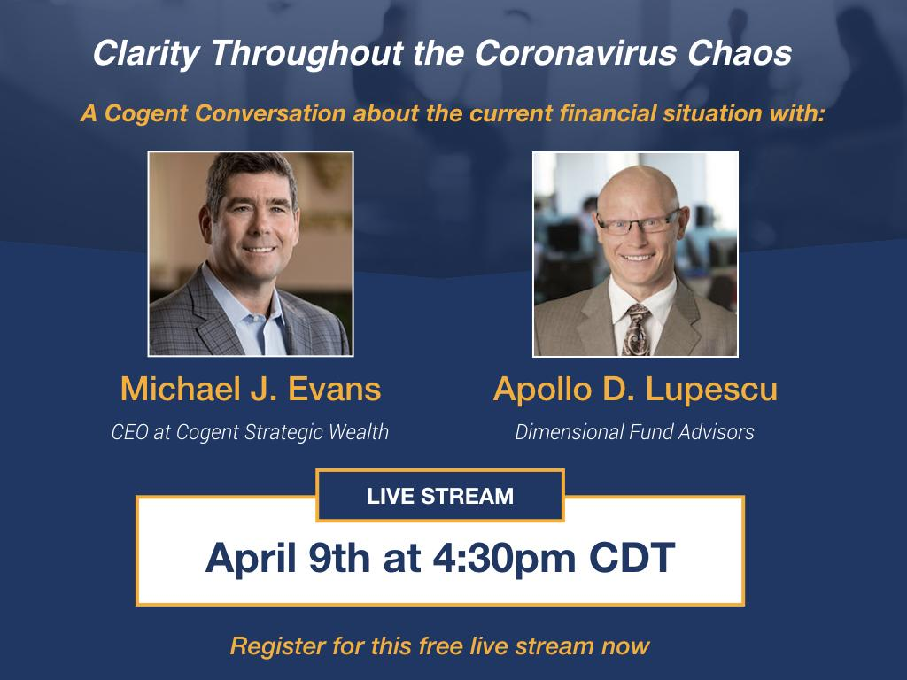 Clarity Throughout the Coronavirus Chaos: Live Stream Thumbnail