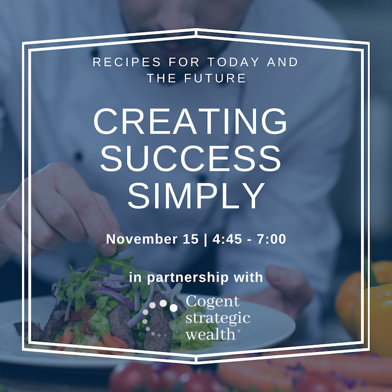 Creating Success Simply: Recipes for today and the future Thumbnail
