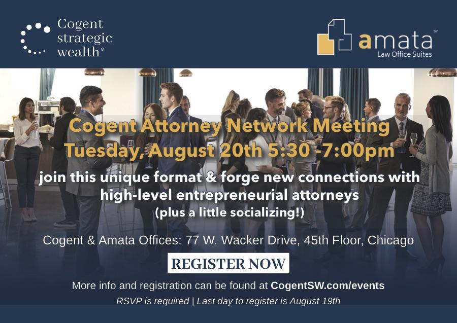 Strategic Networking for Attorneys August 20th Thumbnail