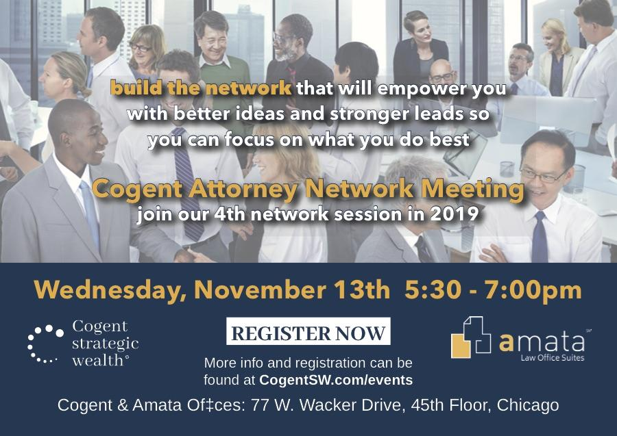 Attorney Networking in Chicago to Build Your Practice November 13th Thumbnail