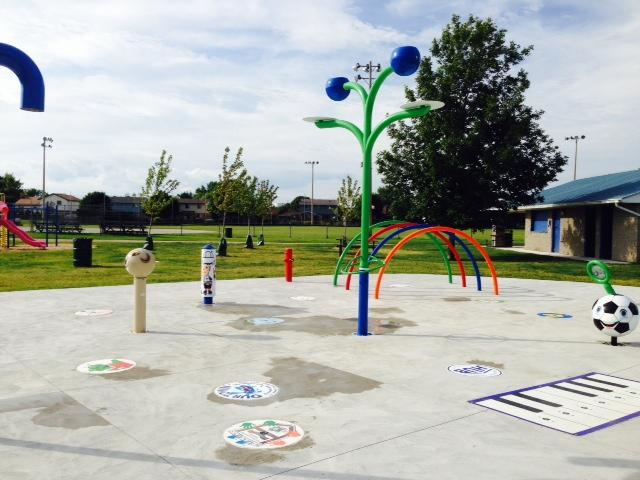 Belmont Splash Pad and Skate Park  - July 2014 Thumbnail