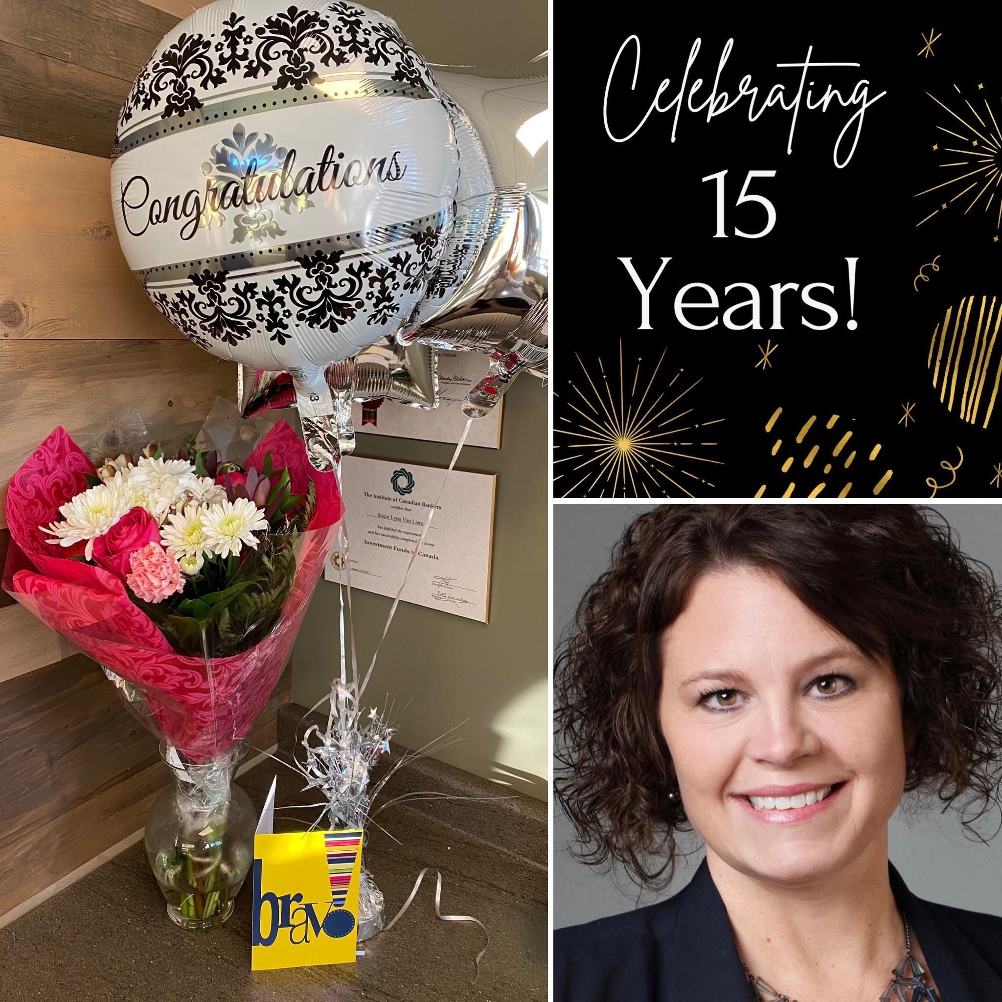 Stacie celebrates 15 years Thumbnail