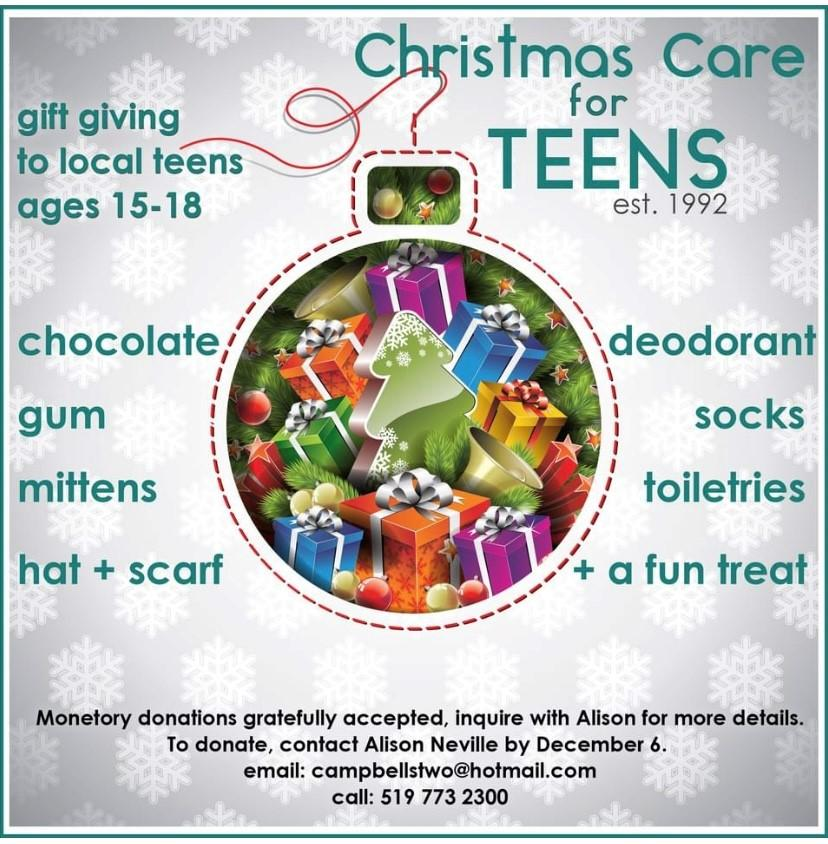Christmas Care for Teens Thumbnail