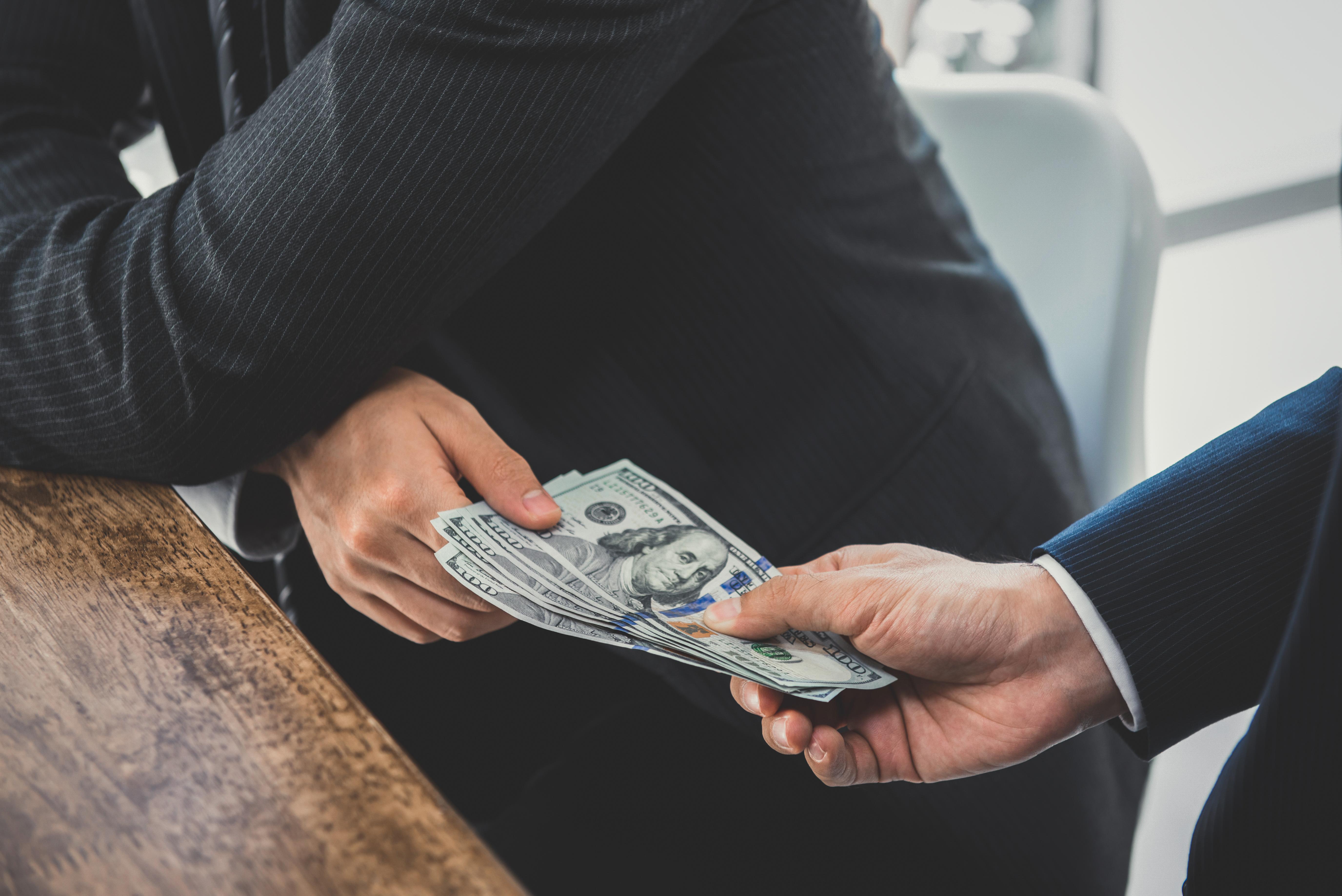Dirty money.  Keeping money launderers and terrorist financing at bay. Thumbnail