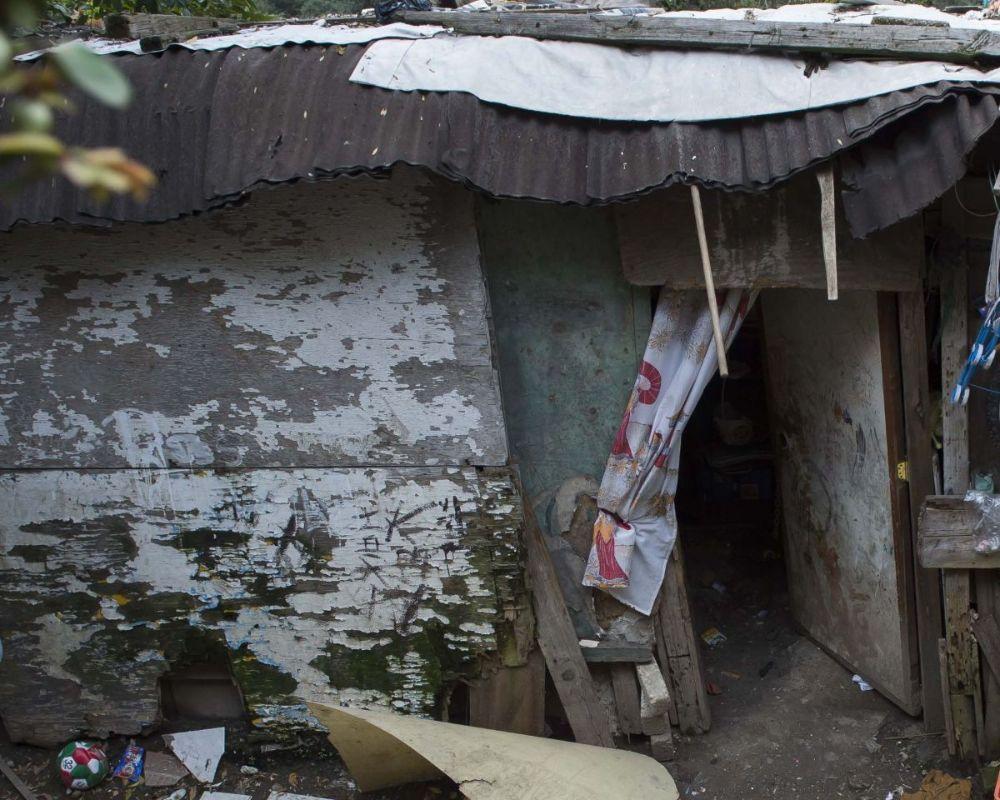 Slum Home in Mexico