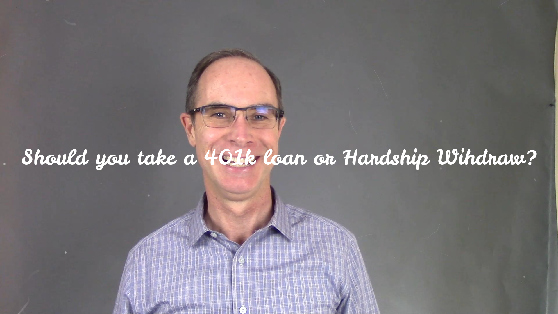 Video: Should you Take a Loan or Hardship Withdraw from your 401K? Thumbnail