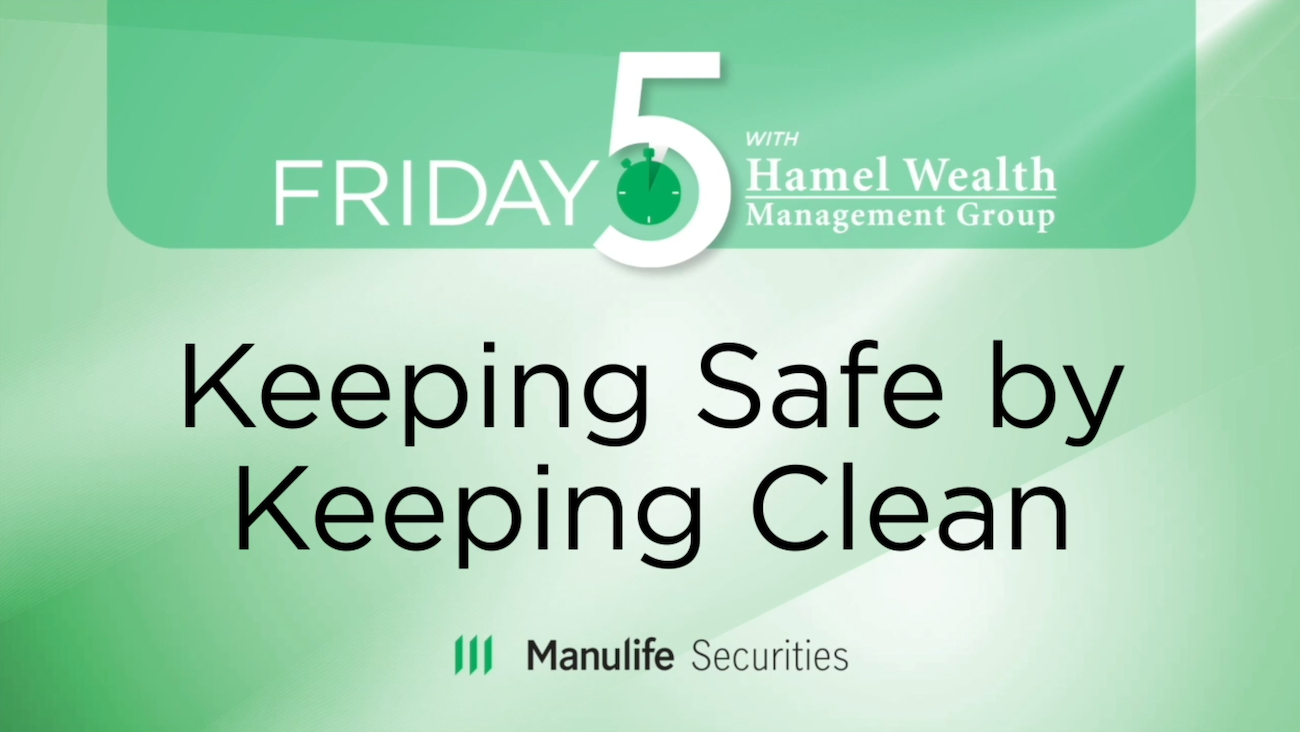 Friday 5 - Keeping Safe by Keeping Clean - Joe Imbrogno Thumbnail