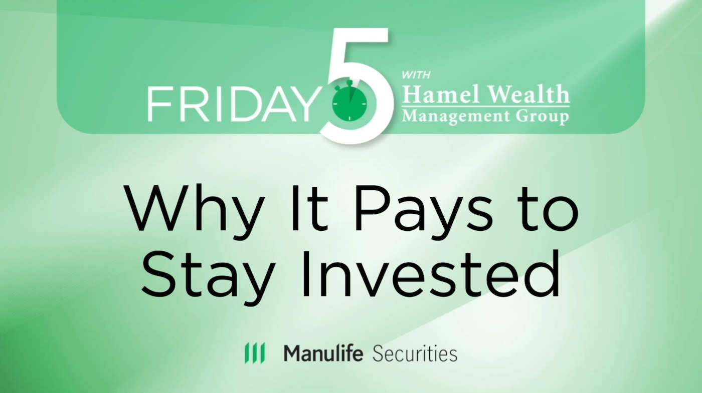 Friday 5 - Brian Levitt - Why It Pays To Stay Invested Thumbnail