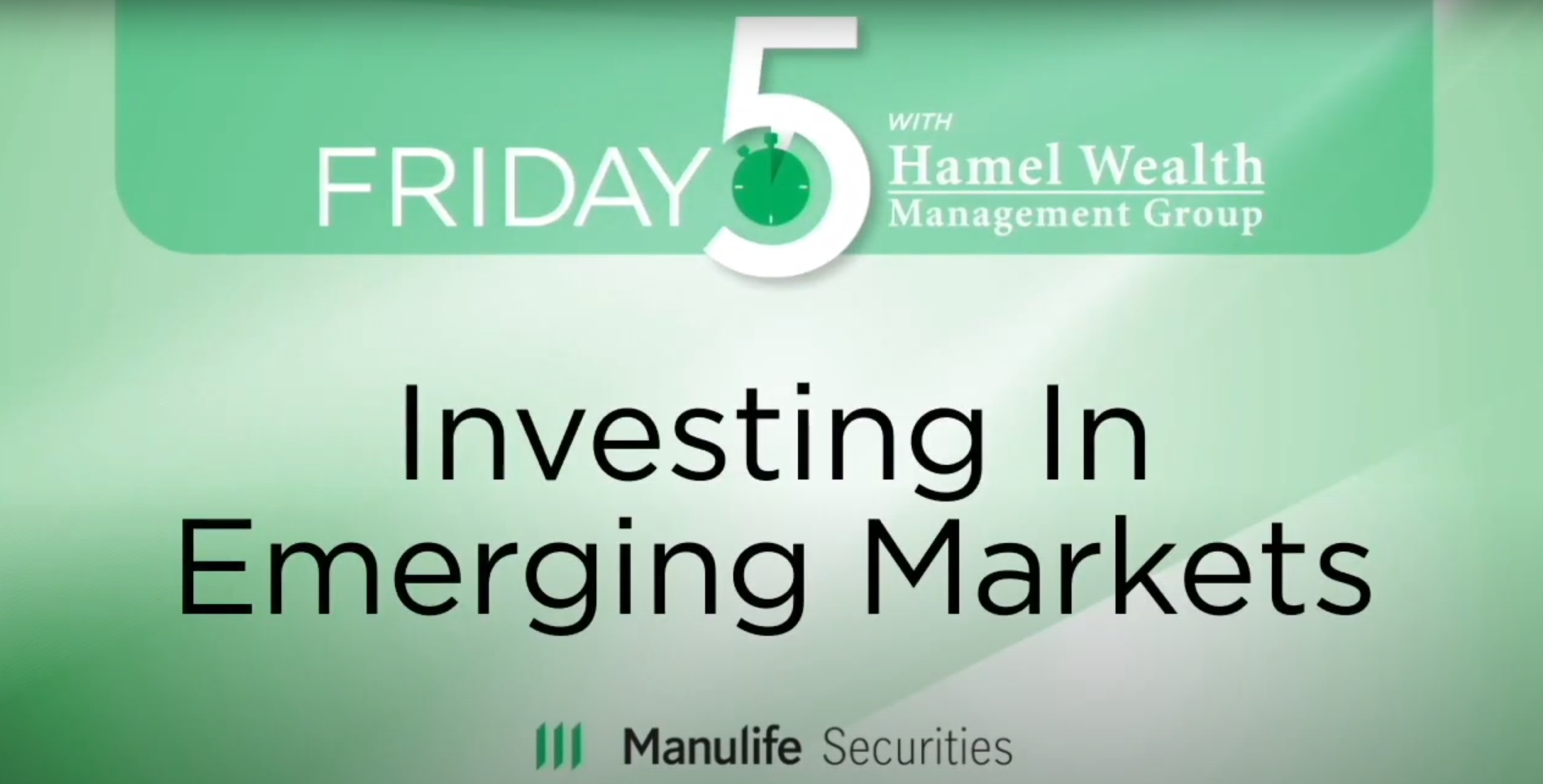 Friday 5 - Investing In Emerging Markets - Kimberly West Thumbnail