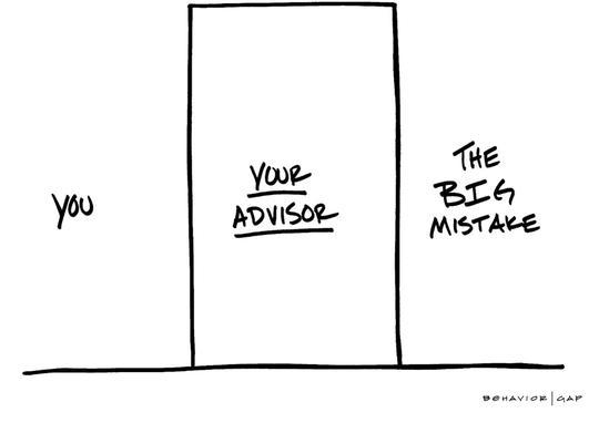 behavior gap, plains advisory