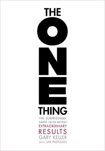 Best Books I've Read - The One Thing Thumbnail