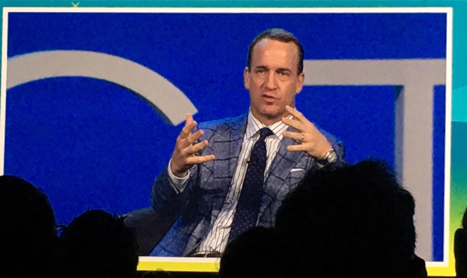 Peyton Manning, American former football quarterback as Guest Speaker for Connect Ed.  Thumbnail