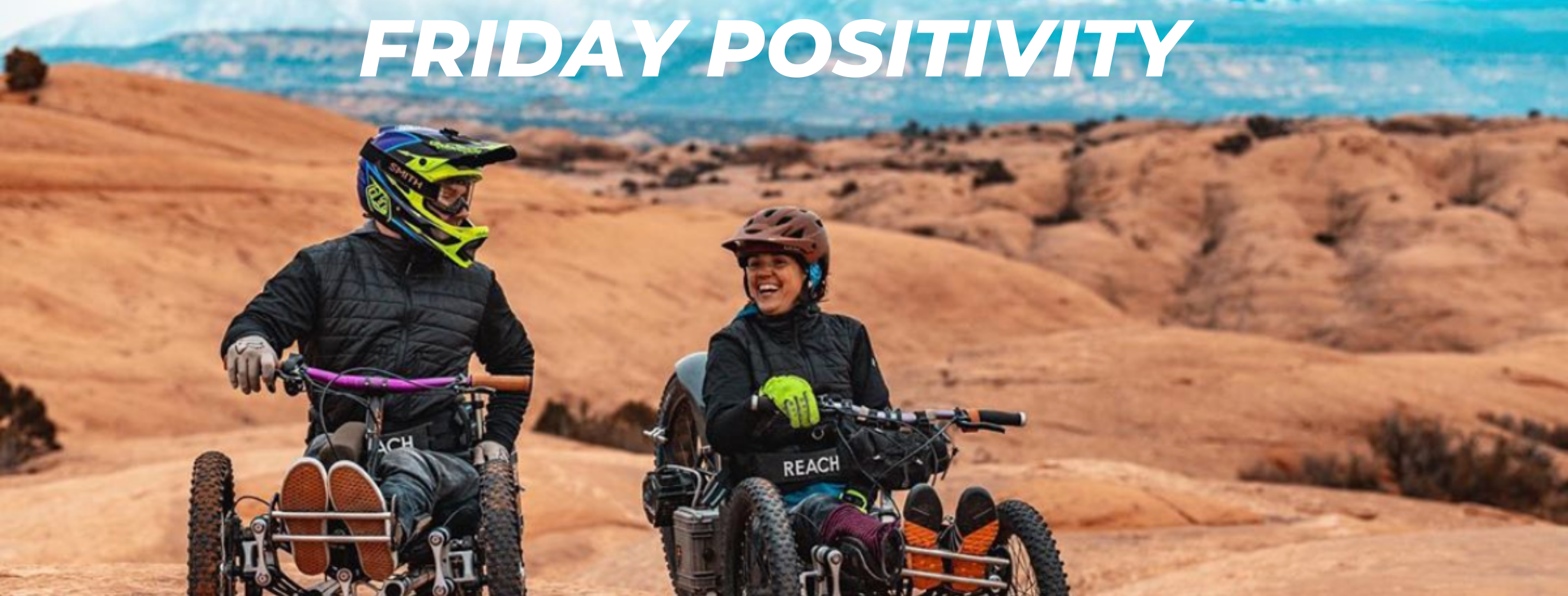 Friday Positivity - Man Designs Special Mountain Bike For People With Disabilities  Thumbnail