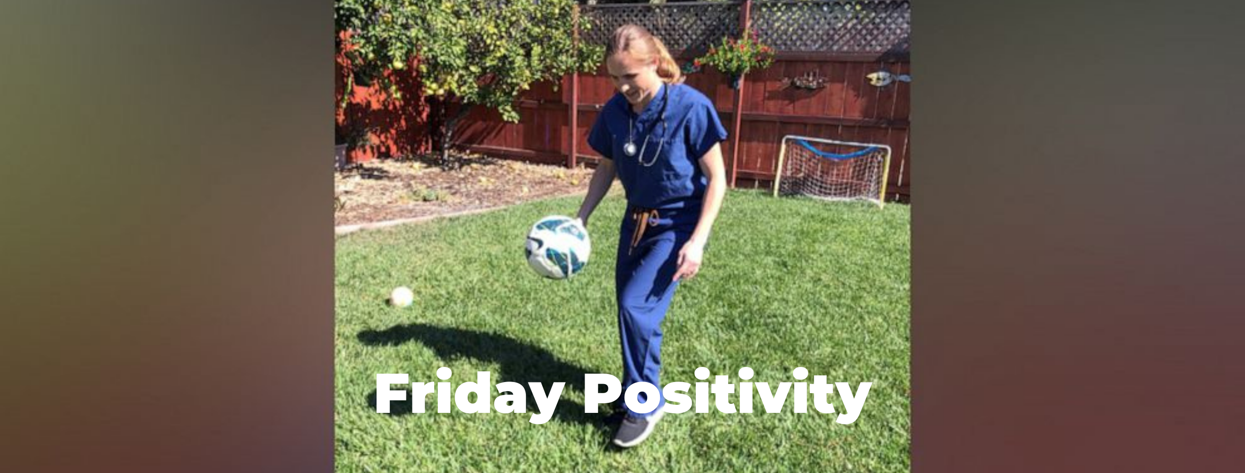 Friday Positivity - Soccer Olympian-Turned-Doctor Helps Treat COVID-19 Patients Thumbnail