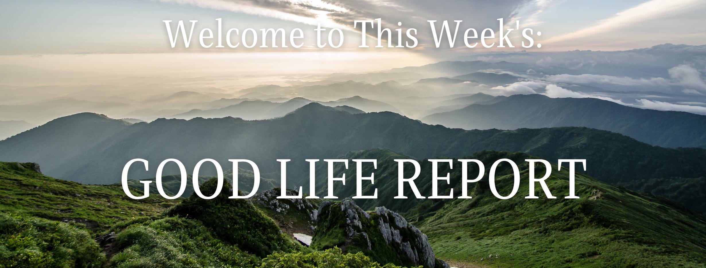 The Good Life Report - Capital Gains & Benefits of Yoga Thumbnail