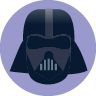 Darth Vader cartoon