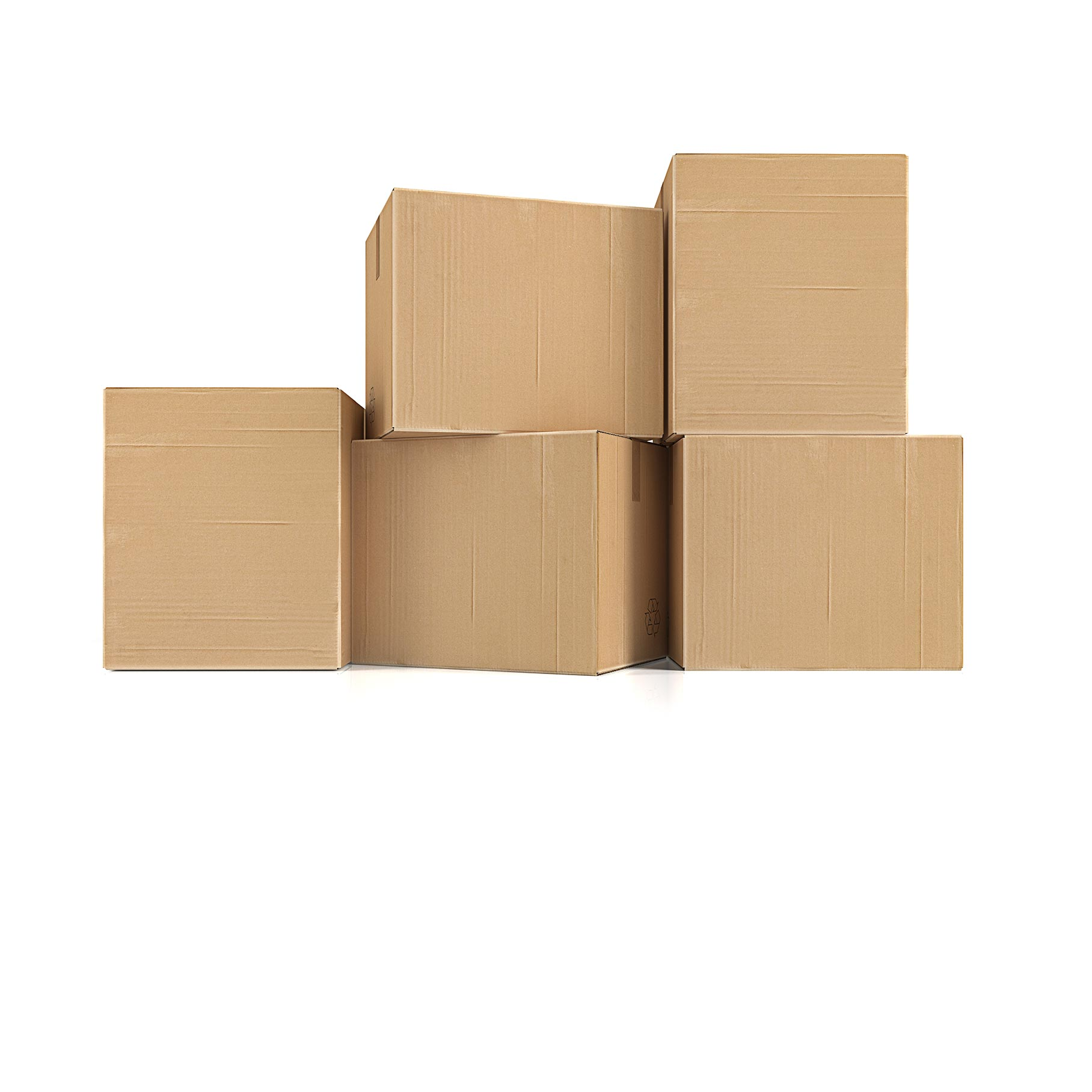 image of cardboard boxes