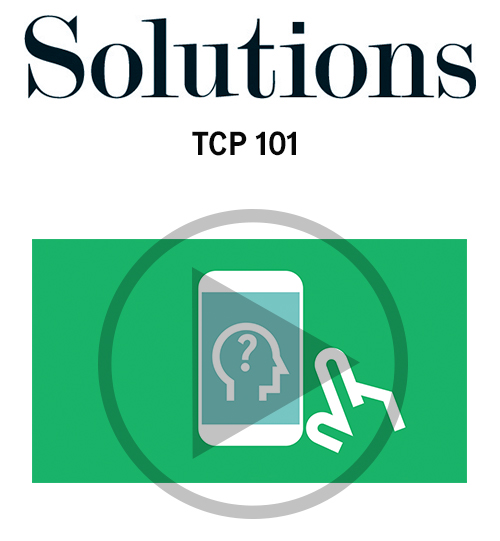 Solutions video. Trusted contact person 101. Click to play video.