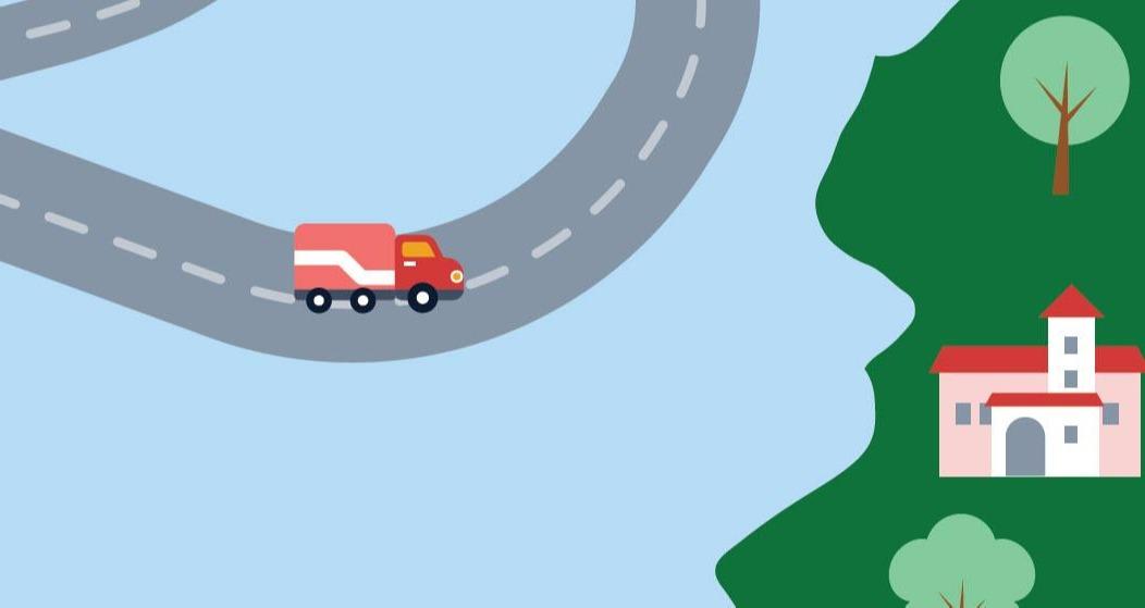 image d'une feuille de route de vie avec des étapes comme l'obtention d'un diplôme, le remboursement d'un prêt étudiant, la location ou l'achat d'une maison.