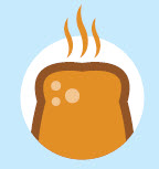 icon of toast