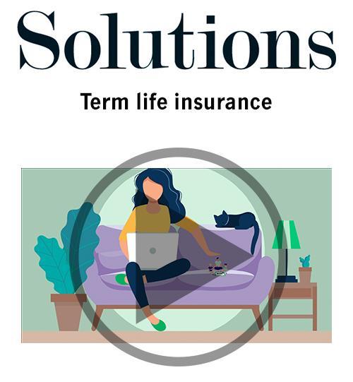 Video: Term life insurance Thumbnail