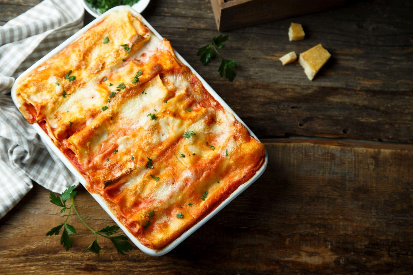 Make-ahead veggie lasagna Thumbnail
