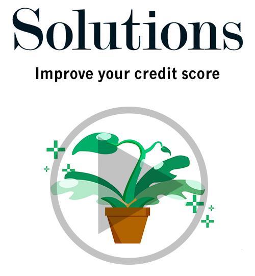 Video: Improve your credit score Thumbnail