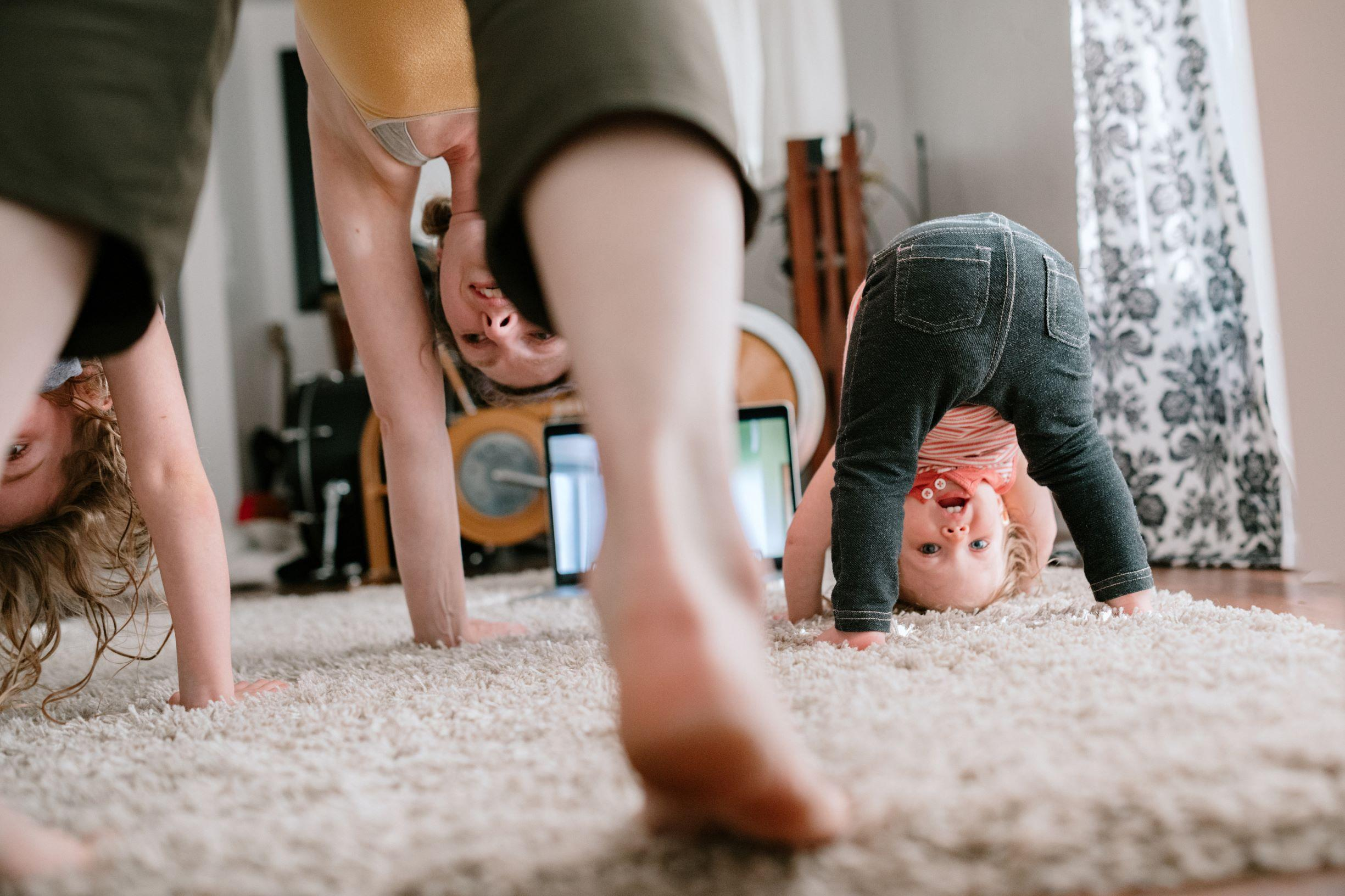 Working out at home Thumbnail