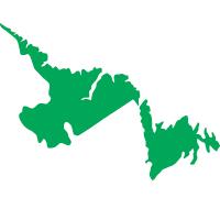 Terre-neuve-et-Labrador. Cliquer pour ouvrir les infos sur les frais dans un nouvel onglet.