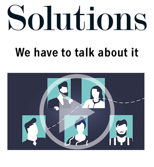 Solutions video. We have to talk about it. Click to play video.