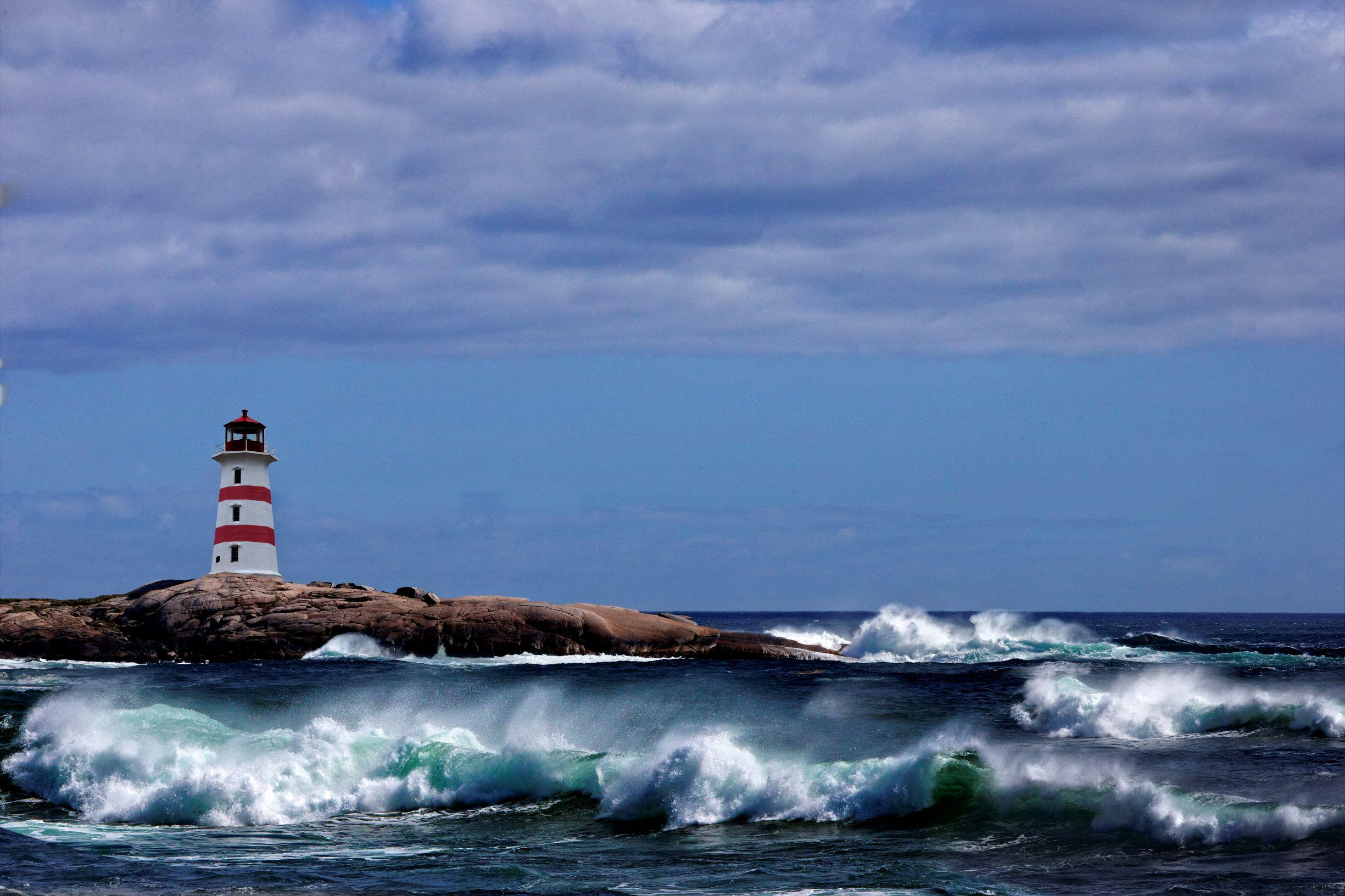 Seeking shelter in stormy seas Thumbnail