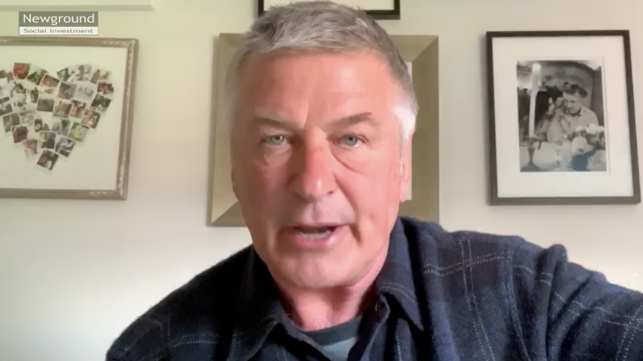 Alec Baldwin addresses Chevron shareholder meeting Thumbnail