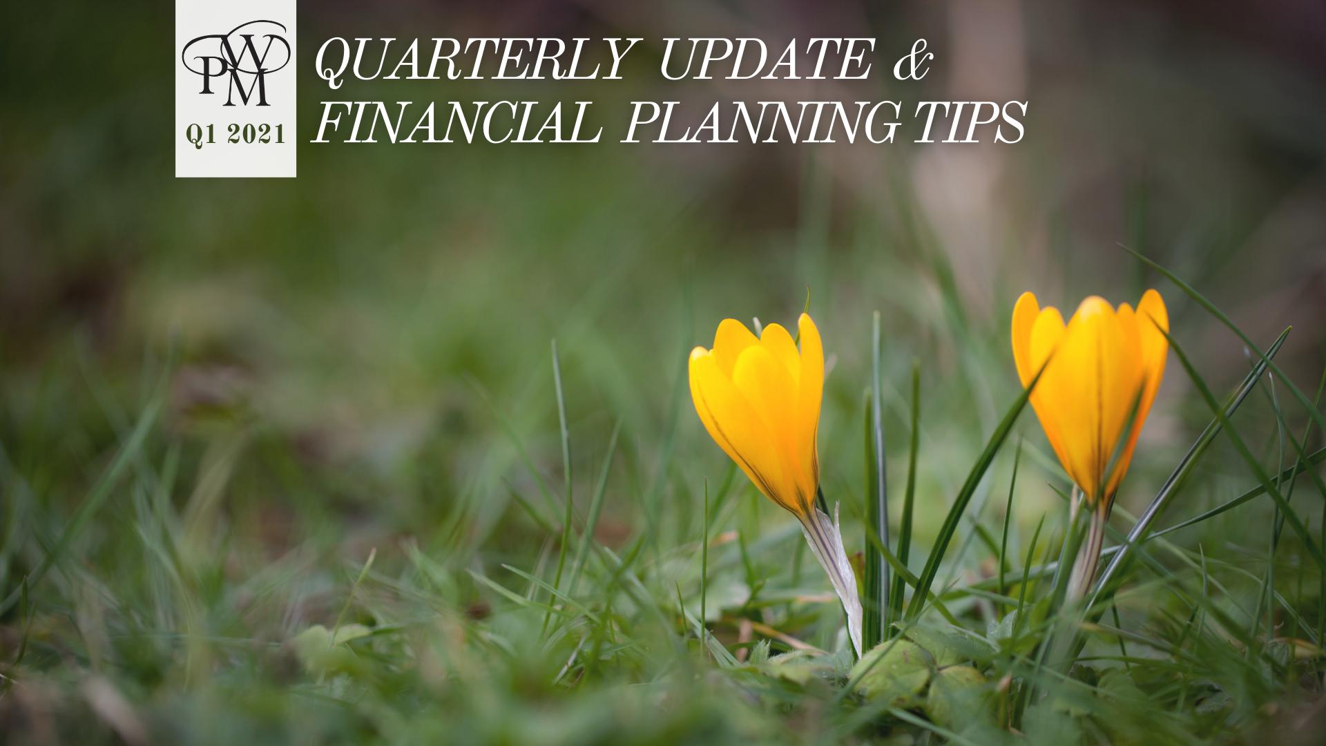 Newsletter - 1st Quarter 2021 Thumbnail