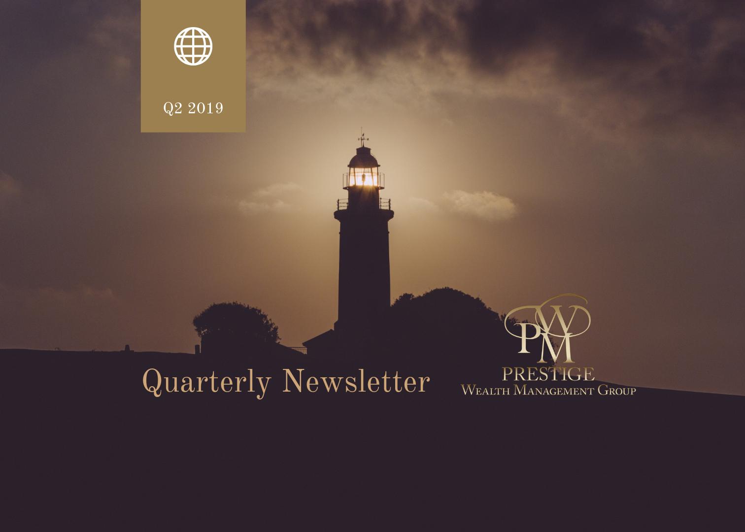 Newsletter - 2nd Quarter 2019 Thumbnail