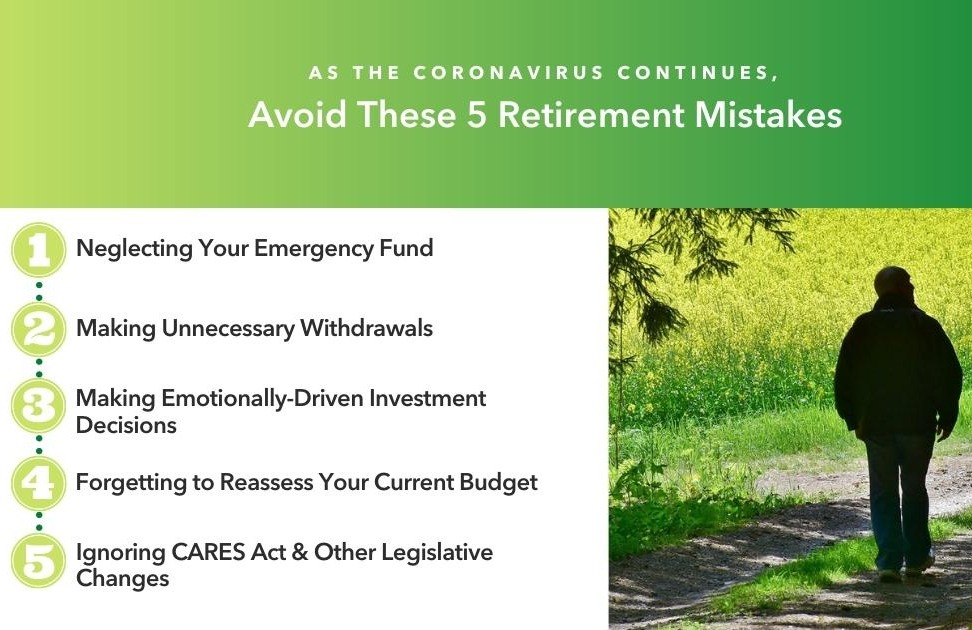 As the Coronavirus Continues, Avoid These 5 Retirement Mistakes Thumbnail