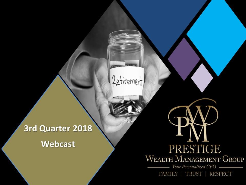 Webcast - 3rd Quarter 2018 Thumbnail