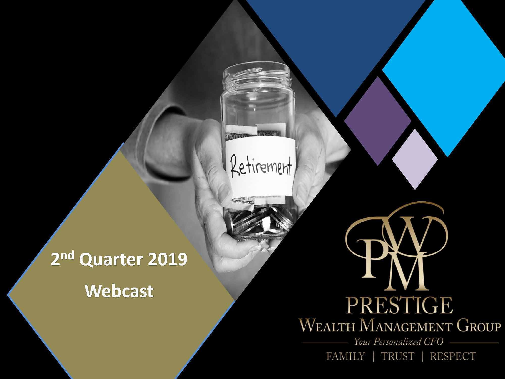 Webcast - 2nd Quarter 2019 Thumbnail