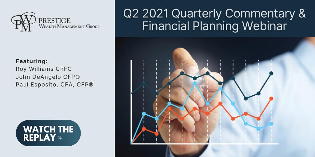 2nd Quarter 2021 Quarterly Commentary & Financial Planning Tips Webinar - On Demand Thumbnail
