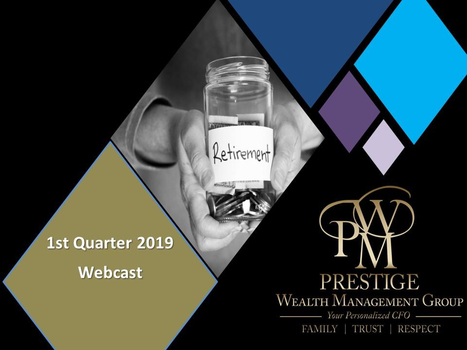 Webcast - 1st Quarter 2019 Thumbnail
