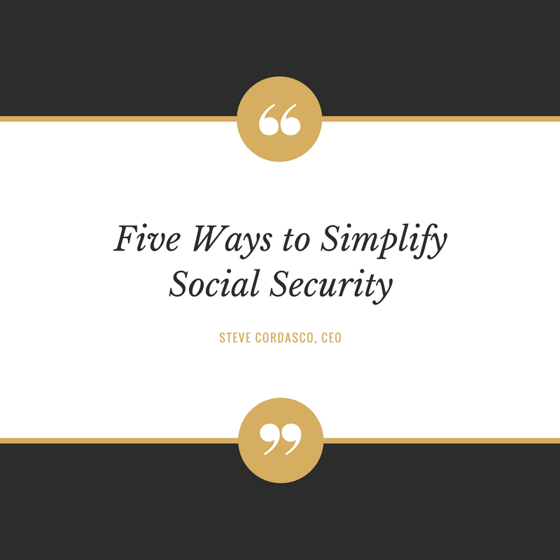 Five Ways to Simplify Social Security Thumbnail