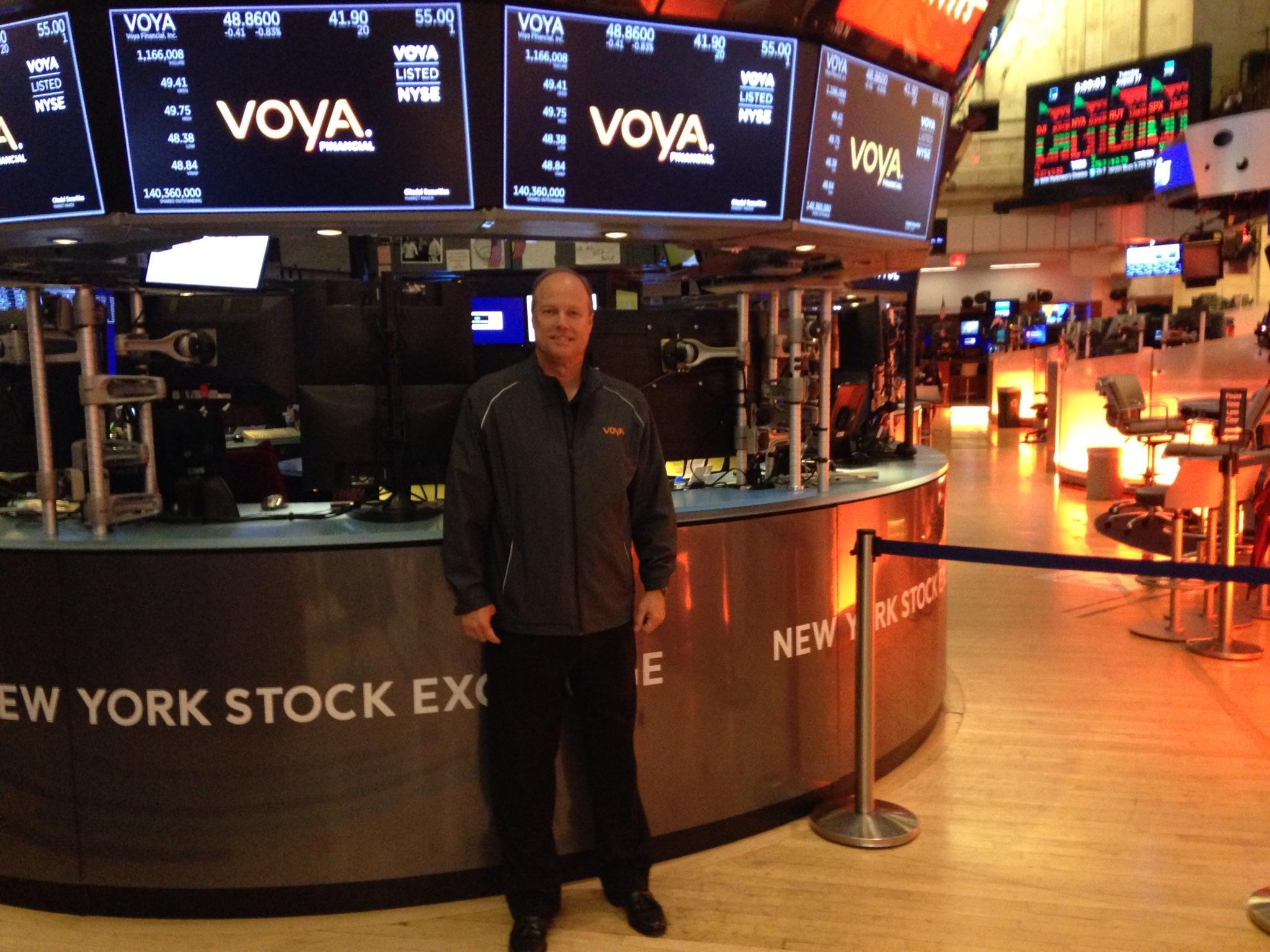 Mike at the NYC Stock Exchange - August 2019 Thumbnail