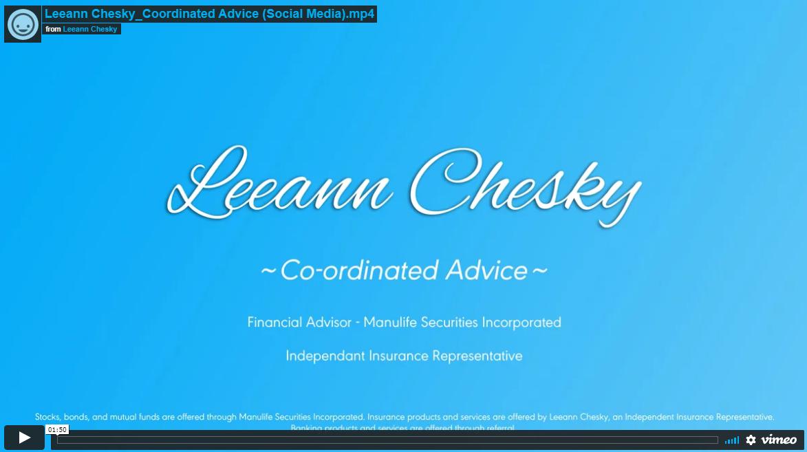 Co-ordinated Advice Thumbnail