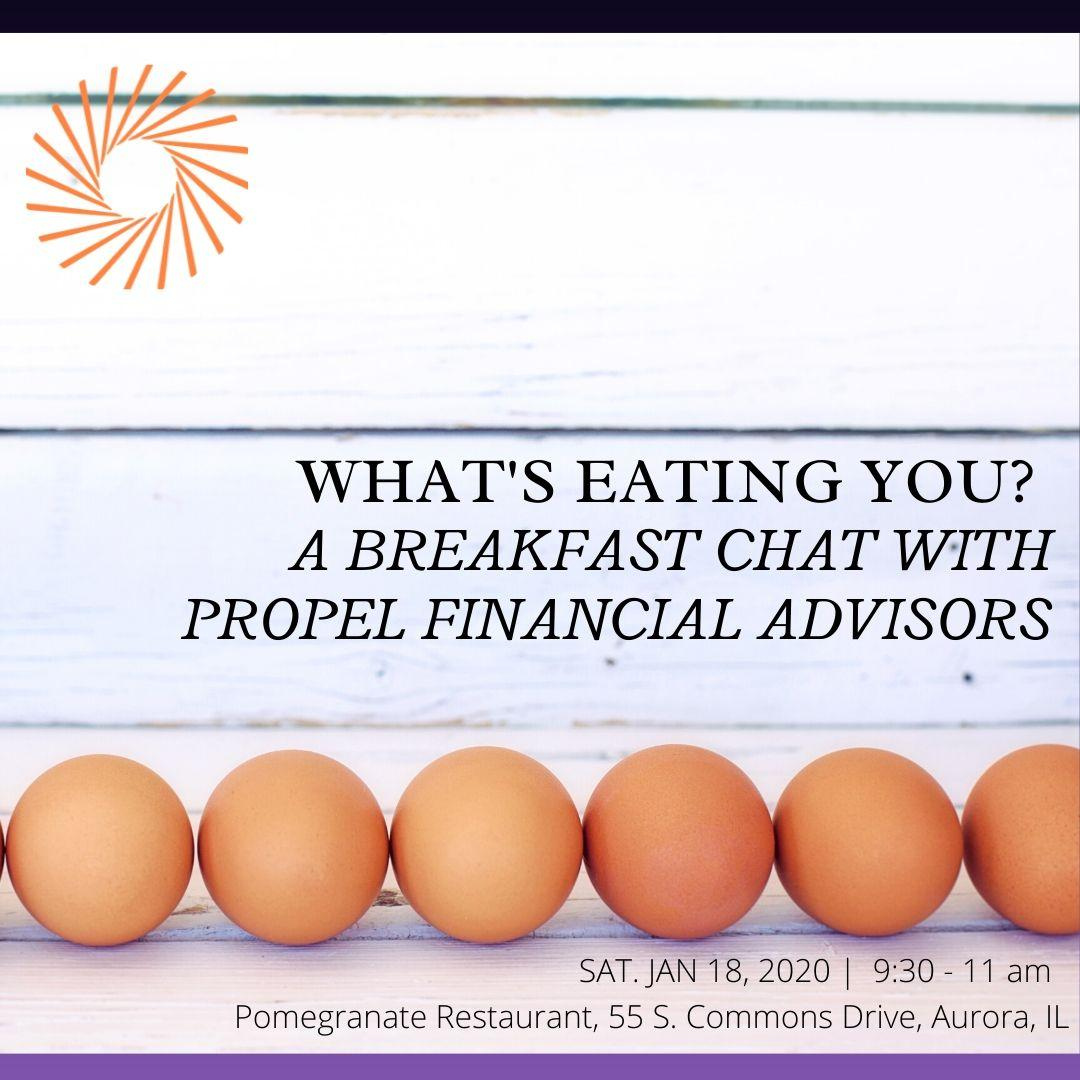 What's Eating You?: A Breakfast Chat with Propel Financial Advisors - 1/18/20 Thumbnail