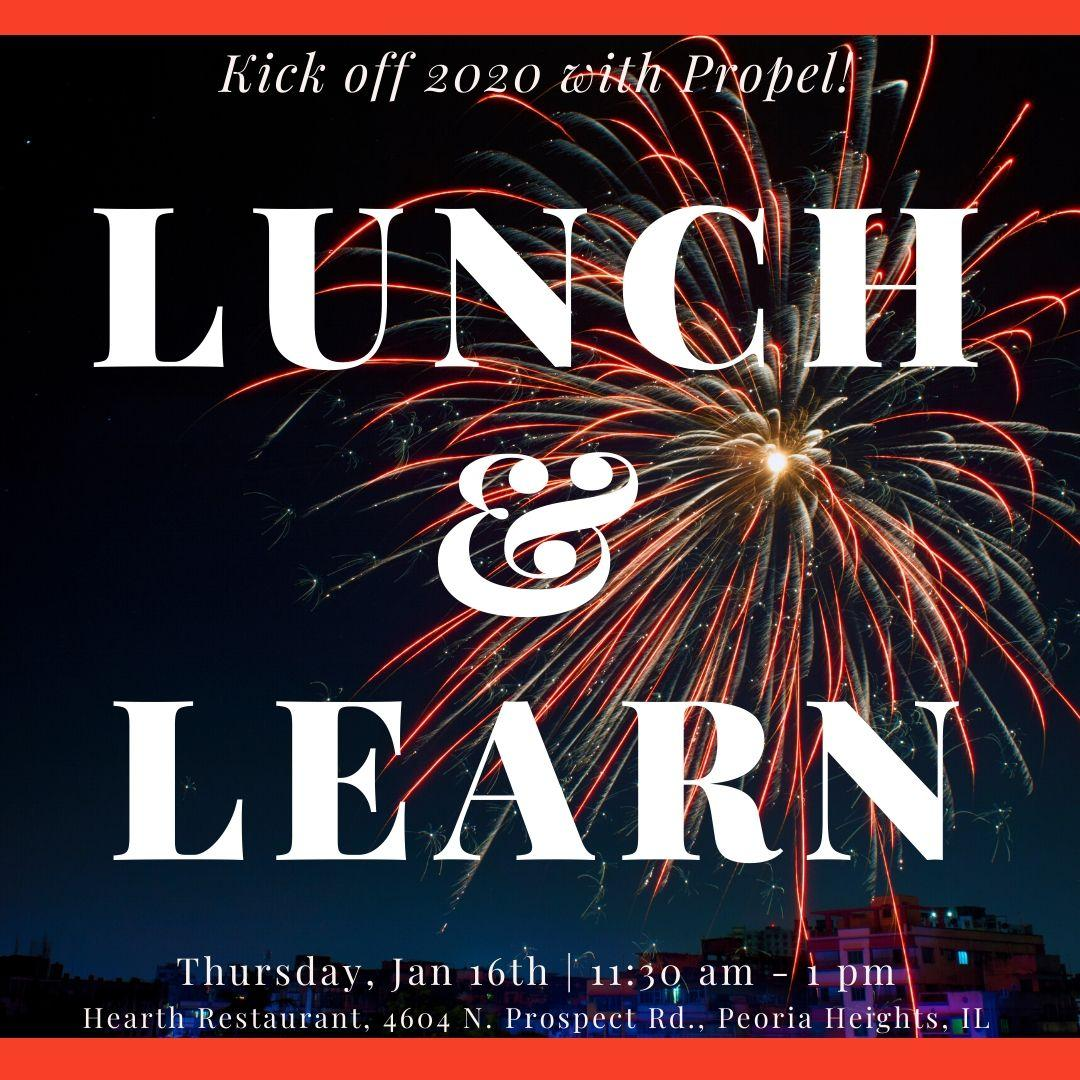 Lunch and Learn with Propel Financial Advisors - Peoria 1/16/2020 Thumbnail